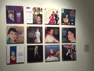 Maria Callas album sleeves
